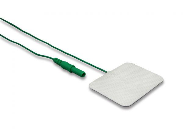 Electrodo adhesivo a tierra de superficie