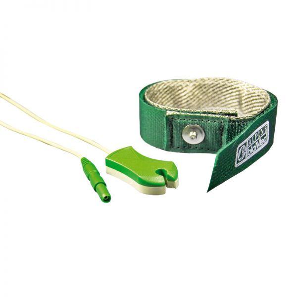 Banda de toma de tierra con cable clip de 150 cm