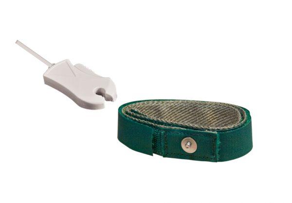 Electrodo de puesta a tierra con cable de clip