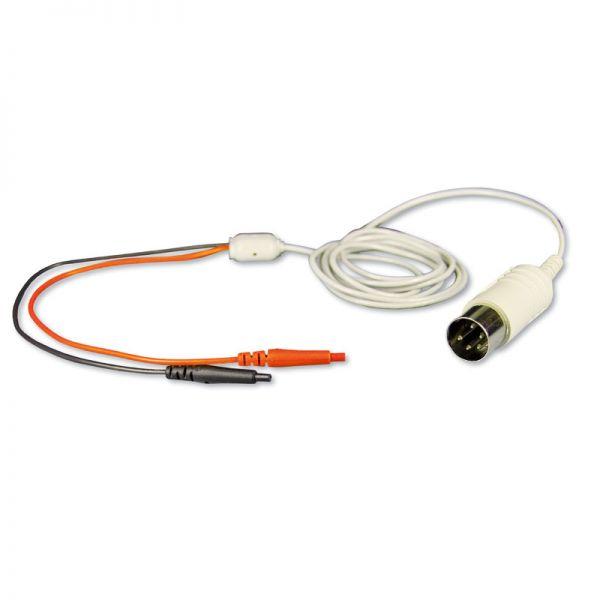Cable con dos conectores hembra de 0,7 mm