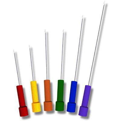 Electrodo de aguja monopolar desechable
