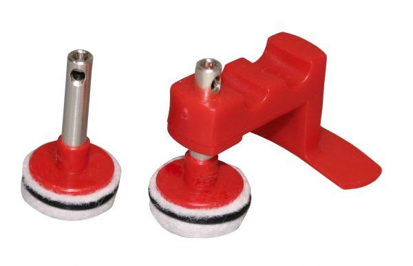 Electrodos de puente sinterizados con pin de plata
